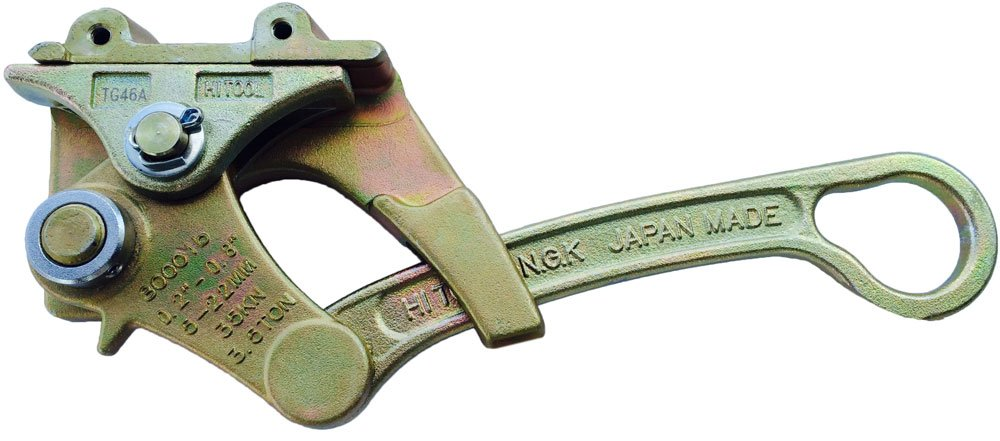 HIT Tools 5/16'' - 1-1/8'' Wire Rope & Cable Grip, 12000 lb Capacity