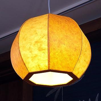 Lámpara de Techo de Papel de Arroz Hecho a Mano Diseño de ...