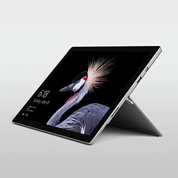 Microsoft Surface Pro (5th Gen) (Intel Core i5, 8GB RAM, 128GB) LTE Laptops at amazon