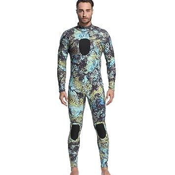 Nuevo Hombres 3mm Traje de Buceo de Longitud Completa Traje de Neopreno Ropa Deportiva Hunting Fish