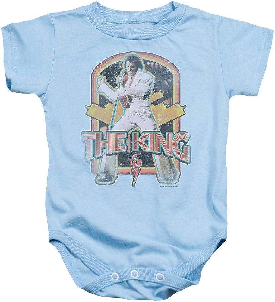 Elvis Distressed King Baby Onesie