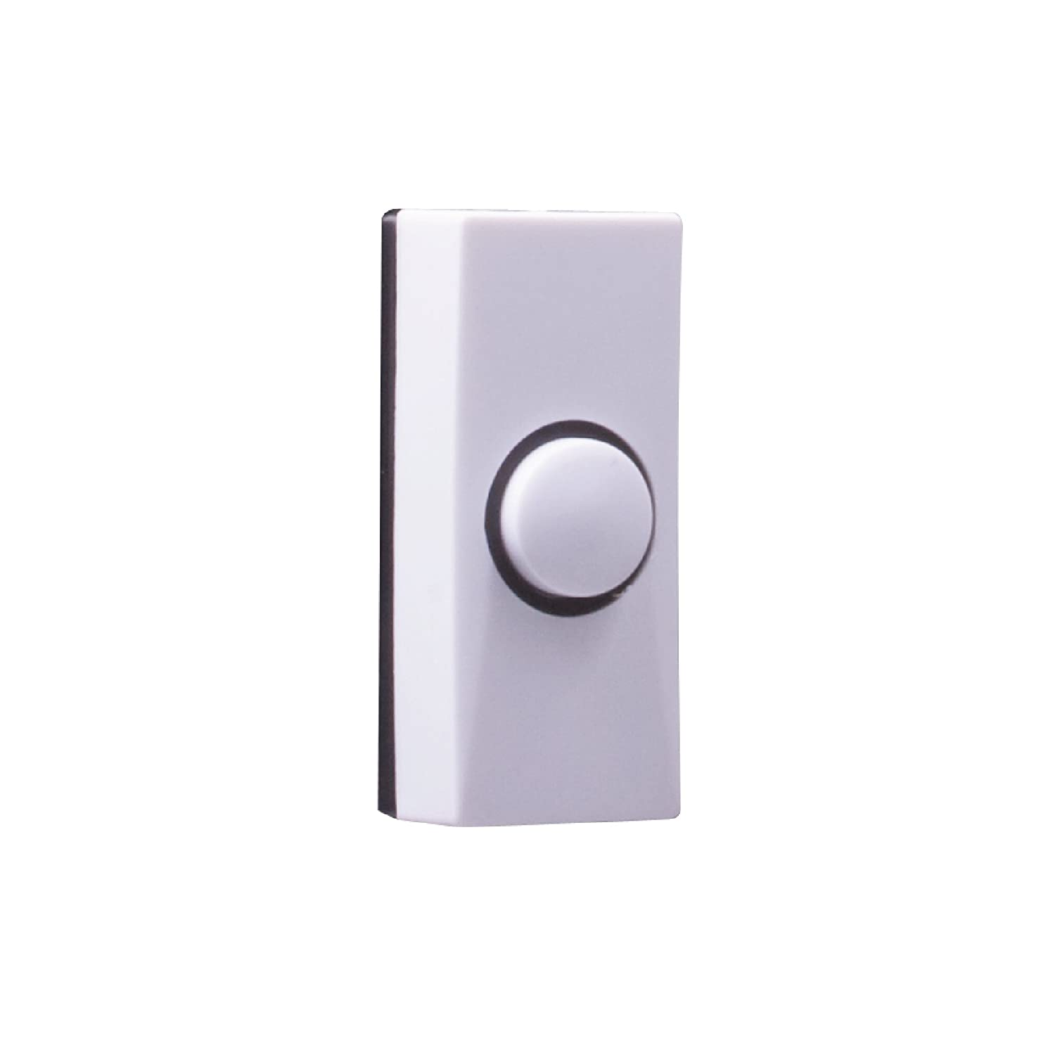 Byron 7910 Wired Bell Push White Diy Tools Keep It Clean Wiring Illuminated Button Starter Switches Free