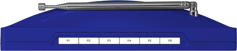 Bianco radio TechniSat DIGITRADIO KIRA 1 Portatile Digitale Blu