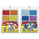 Perler Mini Beads Tray Bundle - Warm and Cool