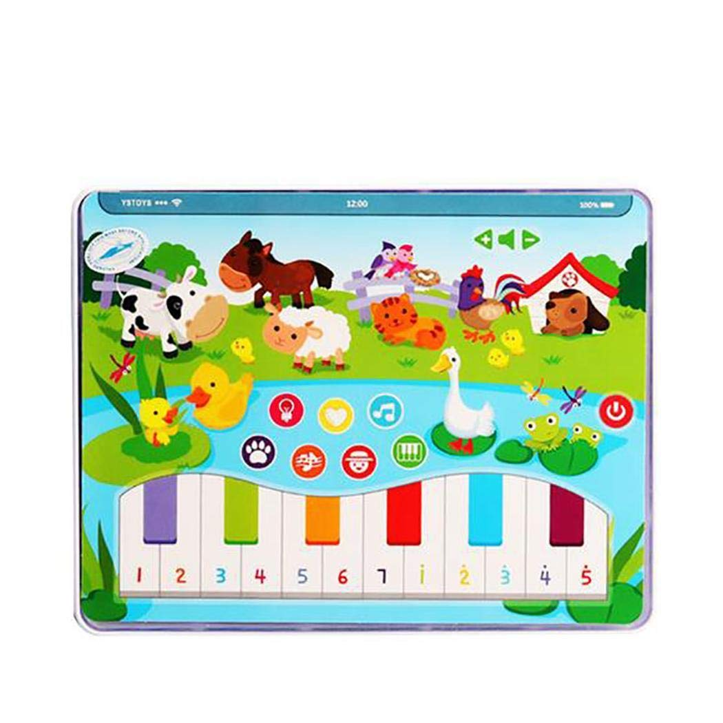 ICCUN Kids Early Educational Tablet Toy English Learning Musical Machine Children Gift Electronic Systems by ICCUN