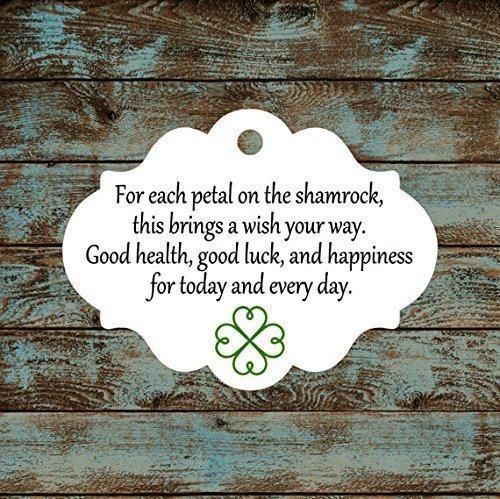Amazon Irish Blessing Favor Tags Qty 30 Tags 605 Handmade