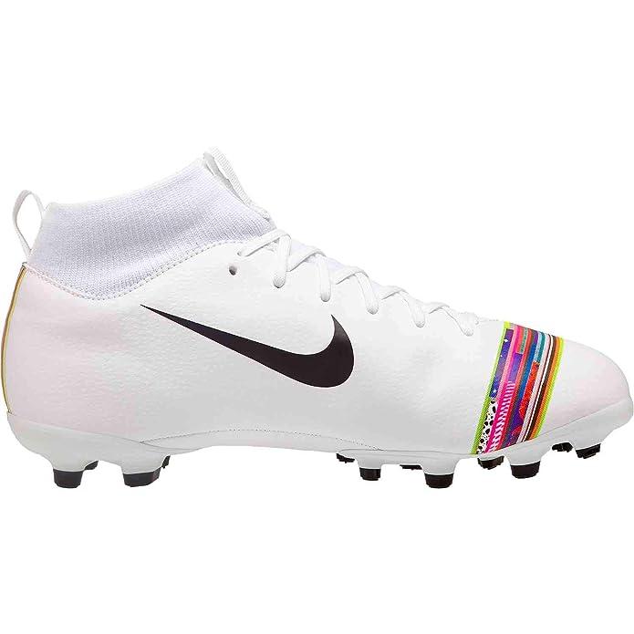 Nike Sperfly 6 Academy GS Cr7 MG, Zapatillas de Fútbol Unisex Niños, Blanco (White/Black/Pure Platinum 109), 37 EU: Amazon.es: Zapatos y complementos