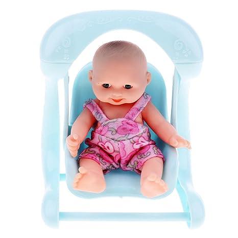 NON Sharplace Simulación Muñecas Infantiles Accesorios Ordenador Portátil Cámara Fotografía - 1