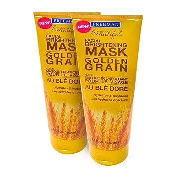 2 Pack - Freeman Feeling Beautiful Brightening Mask, Golden Grain 6 oz Colorescience - Sunforgettable Face Primer SPF30 - 30ml/1oz