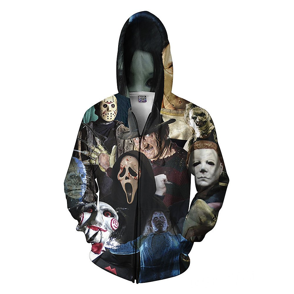 WAYNE FINKELSTEIN Men's Hoodies Sweatshirt Pullovers 3D Digital Tracksuit Jacket