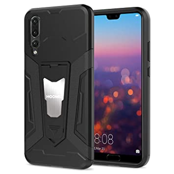 HOOMIL Resistente Funda para Huawei P20 Pro Silicona Carcasa Shock-Absorción Case Cover - Negro (HD3310)