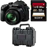 Panasonic LUMIX DMC-FZ1000 Camera, 21.1 MP, 1-inch Sensor, 4K Video, Leica Lens 16X F2.8-4.0 Zoom Bundle