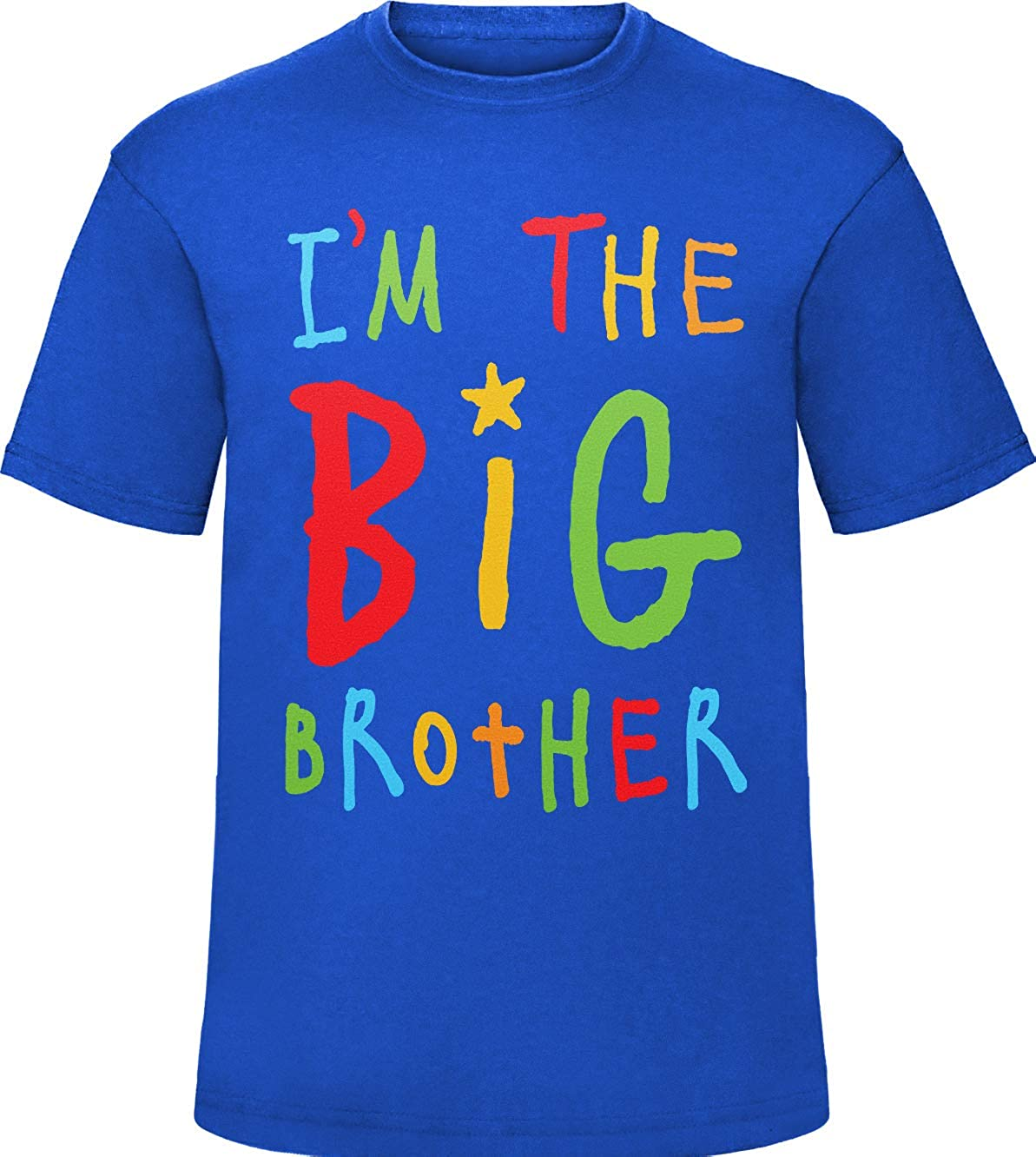 Im The Big Brother T-Shirt Older Bro Boys Funny Kids Tee Top