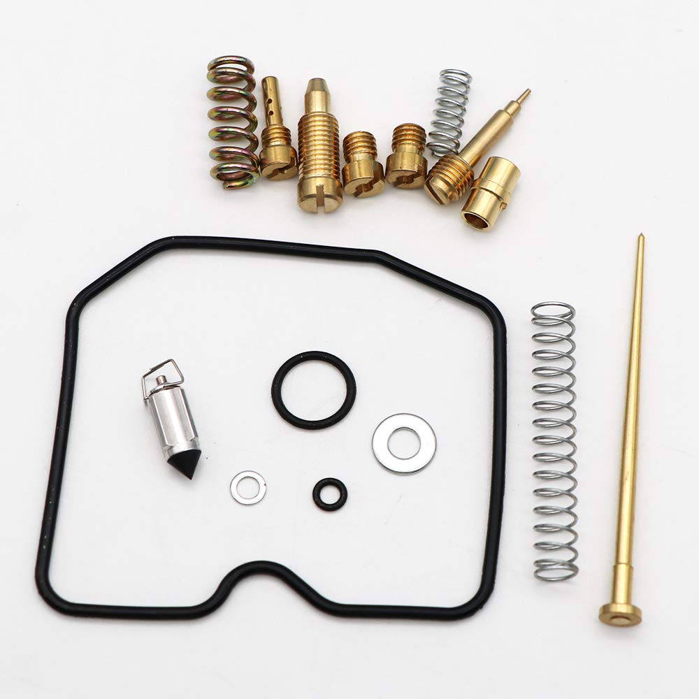 KIPA Carburetor Carb Rebuild Repair Kit for Suzuki Eiger LTF400 LTF400F 2003-2007