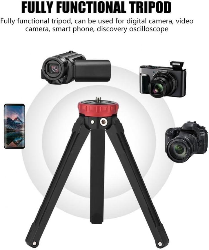 Value-5-Star MT-02 Portable Mini Tabletop Ball Head Tripod Stand for Digital Camera DV Smartphone Suitable for Arca-Swiss standard