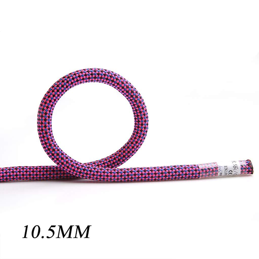 10.5mm TLMYDD Corde d'escalade Travail aérien Corde Statique Corde Escalade extérieure Sauvetage diamètre 10.5mm   11mm Cordes (Couleur   10.5MM, Taille   20M) 150M