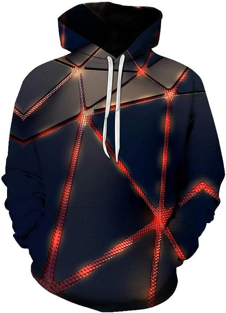 Unisex 3D Novelty Hoodies Graphic Patterns Print Galaxy Hoodies Pullover Sweatshirt Pocket Christmas Sweatshirt LIM&Shop