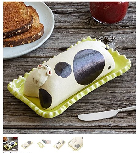 Marjorie the Cow Butter Dish