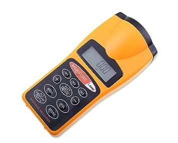Entfernungsmesser Laser Oder Ultraschall : Dsstyles meter batteriebetriebene laser messgerät hand digital