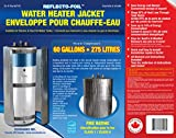 HOT WATER TANK HEATER INSULATION JACKET DIY 'PREMIUM' KIT: ENERGY SAVING REFLECTIVE FOIL FITS 50 & 60 GALLON WATER TANKS. MANUFACTURER OF THIS KIT FOR 26 YEARS.