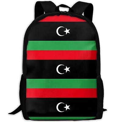 ec78cdf72 Flag Of Libya Fashion Backpack College Bags For Unisex [5ZYga0606776 ...