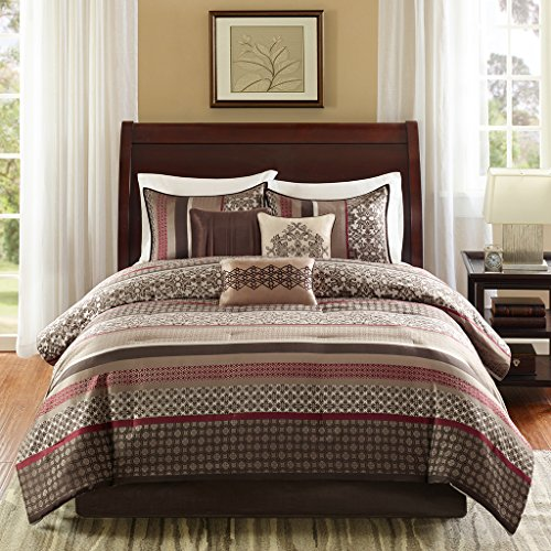 Madison Park Princeton 7 Piece Comforter Set