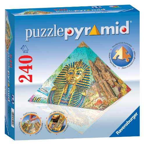 3d Pyramid Puzzle - Ravensburger Essence Of Egypt - Pyramid - 240 Pieces Puzzle