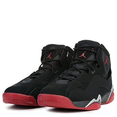 huge discount af503 505c2 Image Unavailable. Image not available for. Color  Jordan Mens True Flight  Hight Top Lace Up Basketball Shoes, Black, Size 10.5