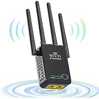 Yaasier Repetidores WiFi, 1200Mbps Amplificador Señal WiFi 5G/2.4G Repetidor WiFi Largo Alcance con Ap/Repeater/Router…