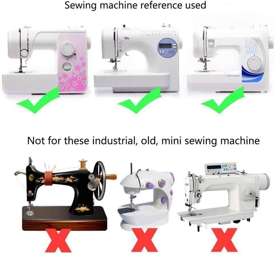 BEST OF BEST - 16 piezas de prensatelas para máquina de coser ...
