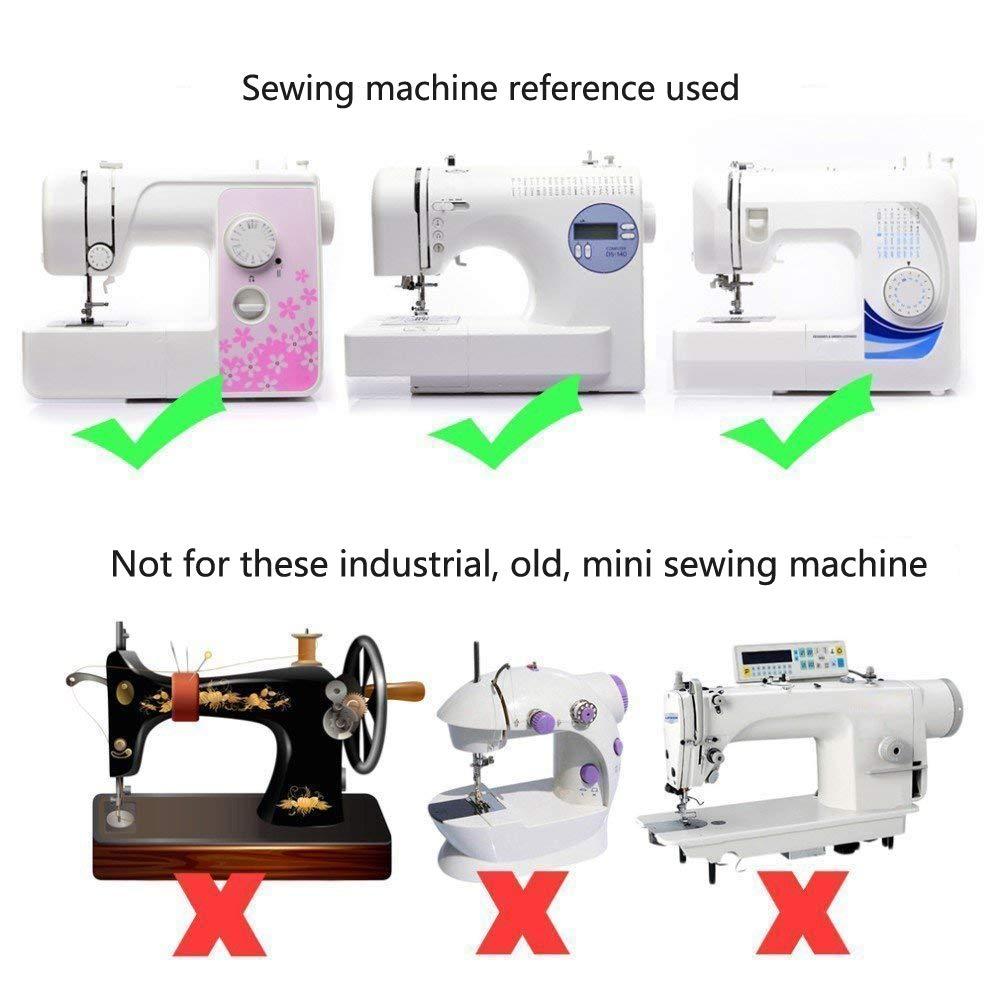 BEST OF BEST - 16 piezas de prensatelas para máquina de coser, piezas de repuesto para máquina de coser Brother Singer: Amazon.es: Hogar