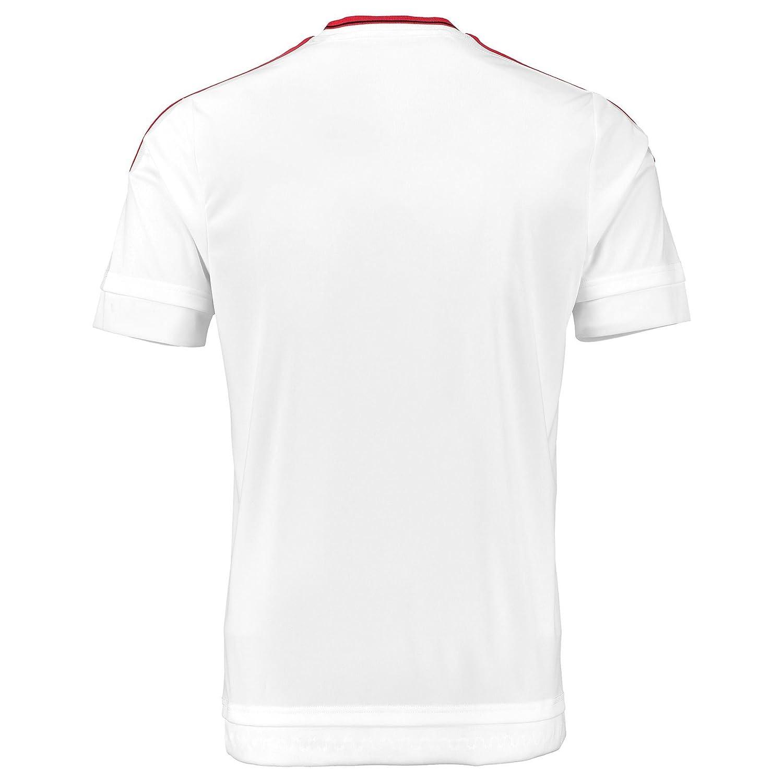 bcf263bfb adidas 2015-2016 Man Utd Away Football Soccer T-Shirt Jersey  (Kids ...