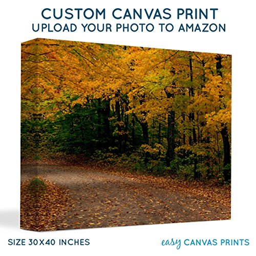 Your Photo on Custom Personalized Canvas Prints (30x40) 1.5