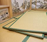 J-beauty Japanese Square Tatami Mat,2inch Thickness