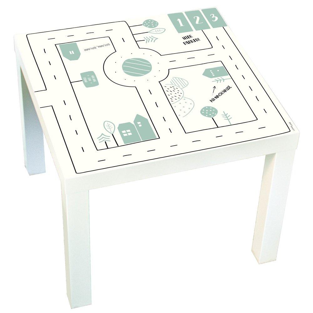 Muebles adhesivos infantiles Calles - Compatible con Ikea Lack ...