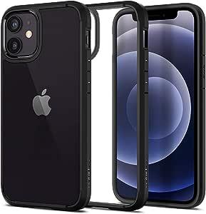 Spigen Ultra Hybrid Designed for iPhone 12 Mini Case (2020) - Matte Black
