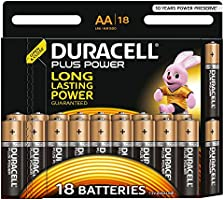 Duracell Plus Power AA Batteries, 18 pack
