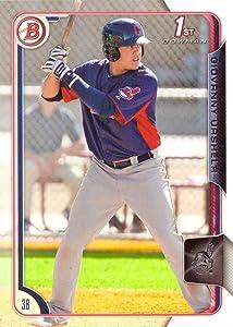 2015 Bowman Prospects Baseball #BP11 Giovanny (Gio) Urshela Pre-Rookie Card - 1st Bowman Card