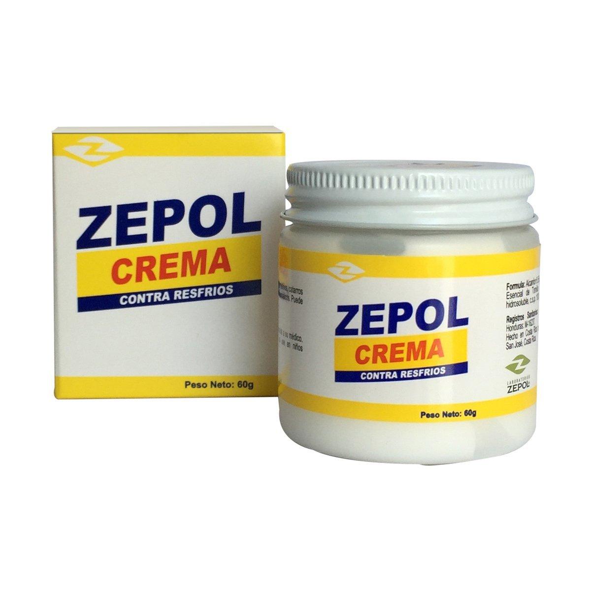Zepol Cream Colds - 2.1 Oz - 2 Pack by Zepol