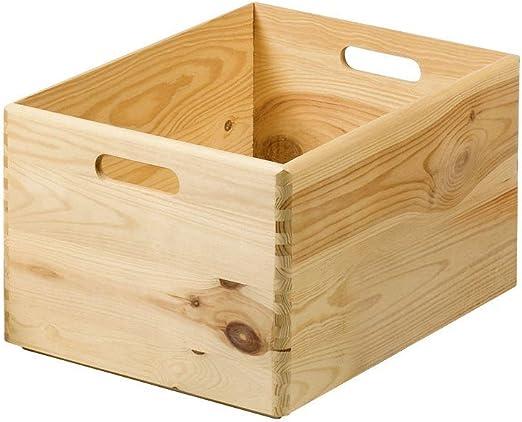 Kesper 69600 Caja de almacenaje Madera Rectangular Pino - Cajas de ...