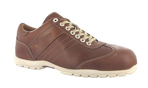 Zapatos HI-TEC II ST Lisboa unisex de seguridad de Brown W002468 / 100, Size:40: Amazon.es: Zapatos y complementos