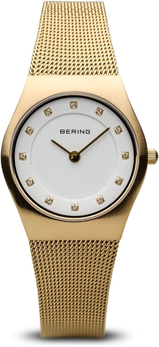 BERING Time | Women's Slim Watch 11927-334 | 27MM Case | Classic Collection | Stainless Steel Strap | Scratch-Resistant Sapphire Crystal | Minimalistic - Designed in Denmark 61CNEyXpELLUL1200_