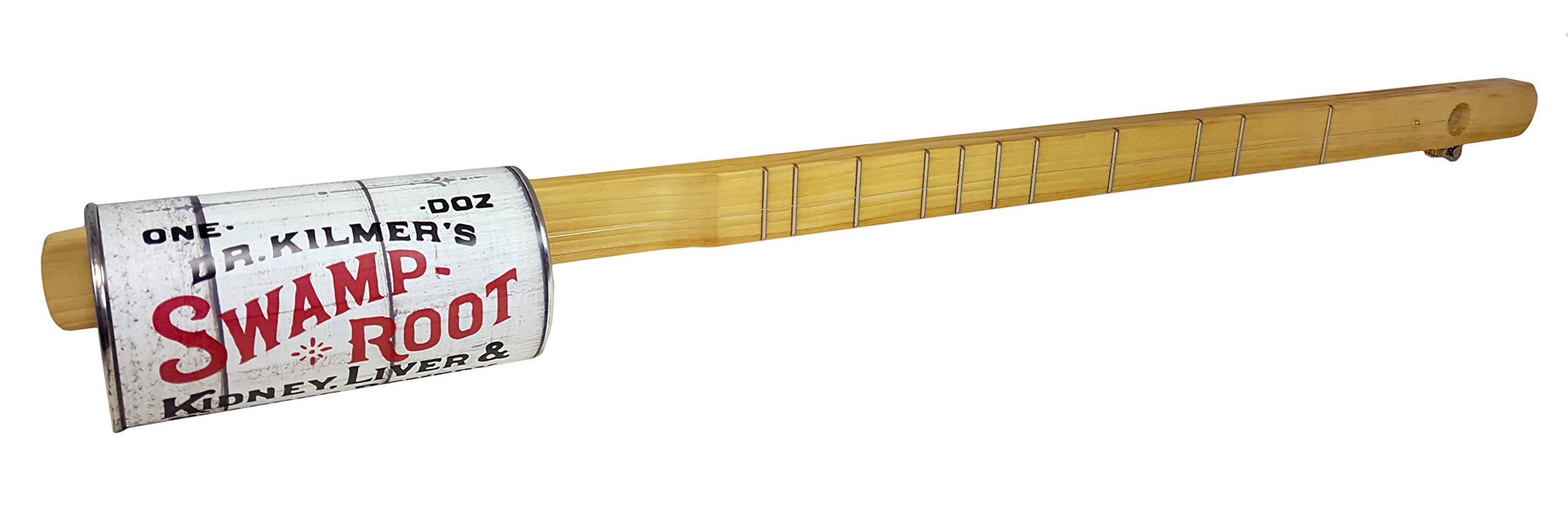 ''Swamp Root'' One-String Acoustic Canjo by The American Canjo Company