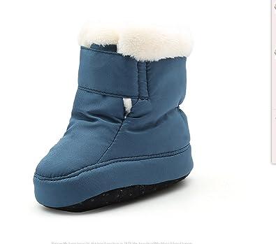 608be9a5b073 Kuner Newborn Baby Boys and Girls Waterproof Winter Warm Snow Boots ...