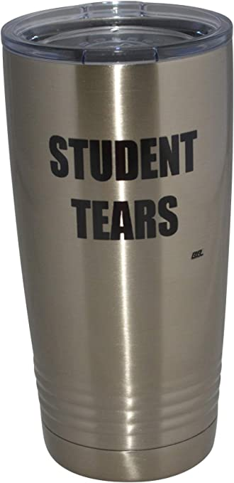 Student Tears 20 Oz. Travel Tumbler Mug