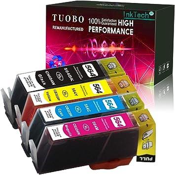 10 PACK 564XL Ink Cartridge for HP Printer Photosmart 5510 5515 5520 5525