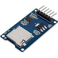 AZDelivery 3 x Czytnik SPI micro memory SD TF card Shield moduł kompatybilny z Arduino wraz z E-Book!