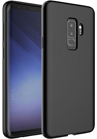 the best attitude 54b1f bdddf Galaxy S9 Plus Case, OUBA [Slim Thin] Flexible TPU Gel Rubber Soft ...