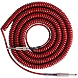 Retro Coil 20-Foot Silent Instrument Cable Straight-Straight Assorted Colors