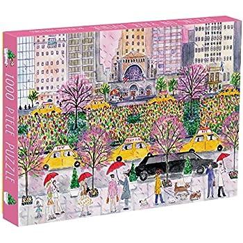 Galison Michael Storrings Spring On Park Avenue Puzzle (1000 Piece)
